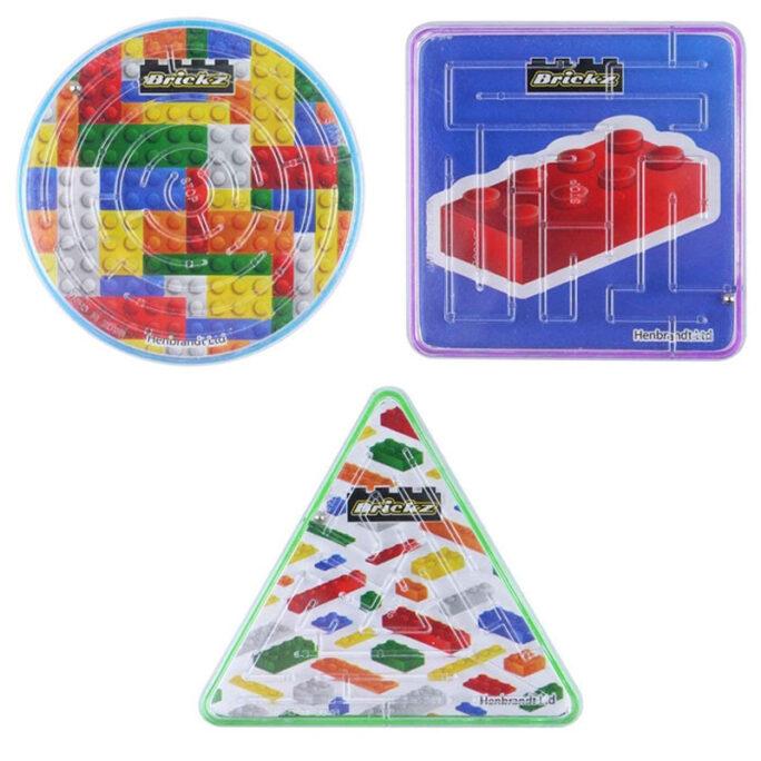 Labyrintspel Mini. Små spel med kula. Finns 3 olika sorter.