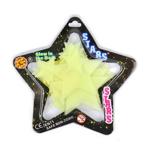 Stjärnor som lyser i mörkret, Glow in the dark stjärnor. Stjärnor att ha i taket eller runt sängen. Häftkuddar medföljer. Innehåller 24 st. Upplever du att självlysande stjärnor lyser inte. Ju mer självlysande stjärnor blir belysta på dagen desto mer lyser de på natten. Köp stjärnor som lyser i taket på Lilla Filur.