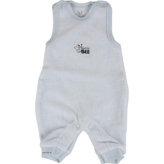 Baby Sparkdräkt blå velour