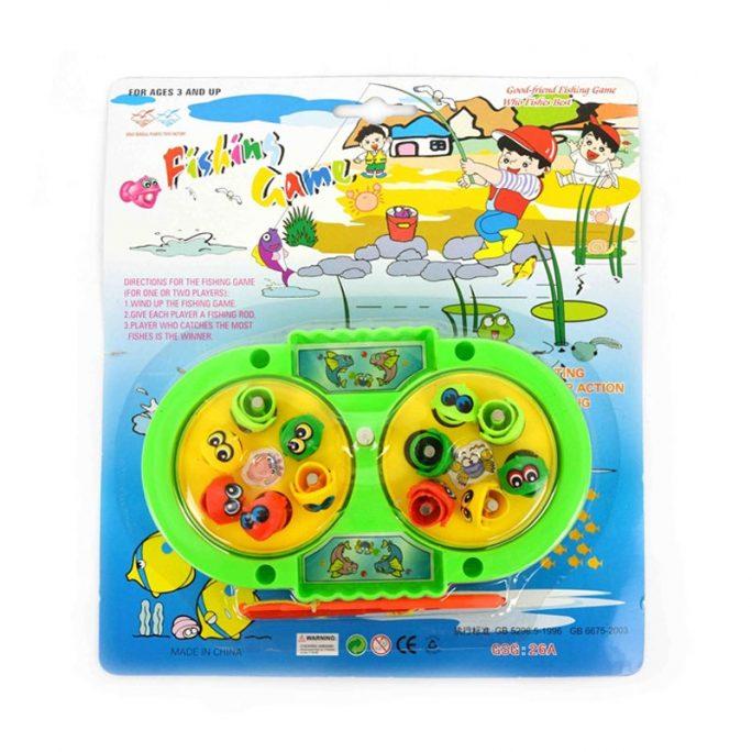 Barnspel Fiskespel. Roligt litet fiskespel för två spelare. LillaFilur.se