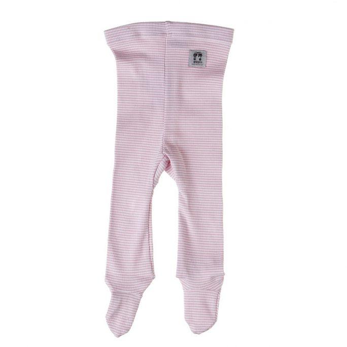 Byxor baby med fötter. Byxa med fot för nyfödd. Finns i storlek 50 och 60. LillaFilur.se