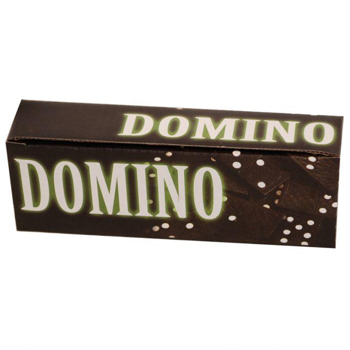 Domino spel med 28 st domino brickor och domino regler på svenska. LillaFilur.se