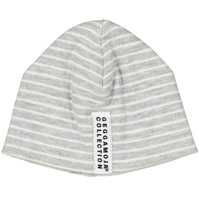 Geggamoja prematur kläder mössa grå