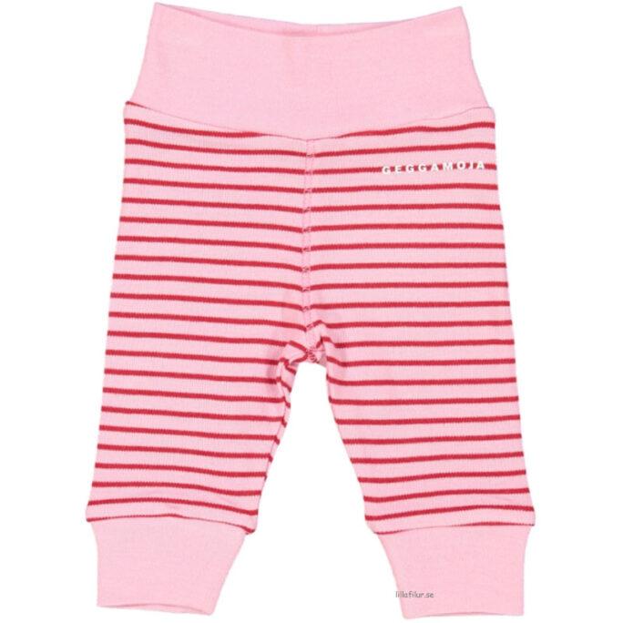 kläder för prematura barn geggamoja rosa byxor.