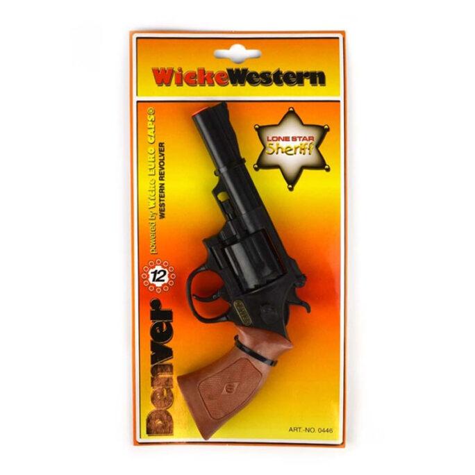 Knallpulver pistol 12 skott Denver.