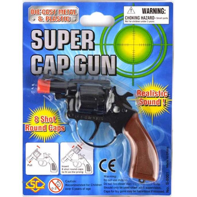 Knallpulver Pistol 8-skott