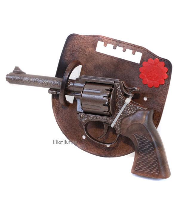Knallpulverpistol revolver 12-skott dyal