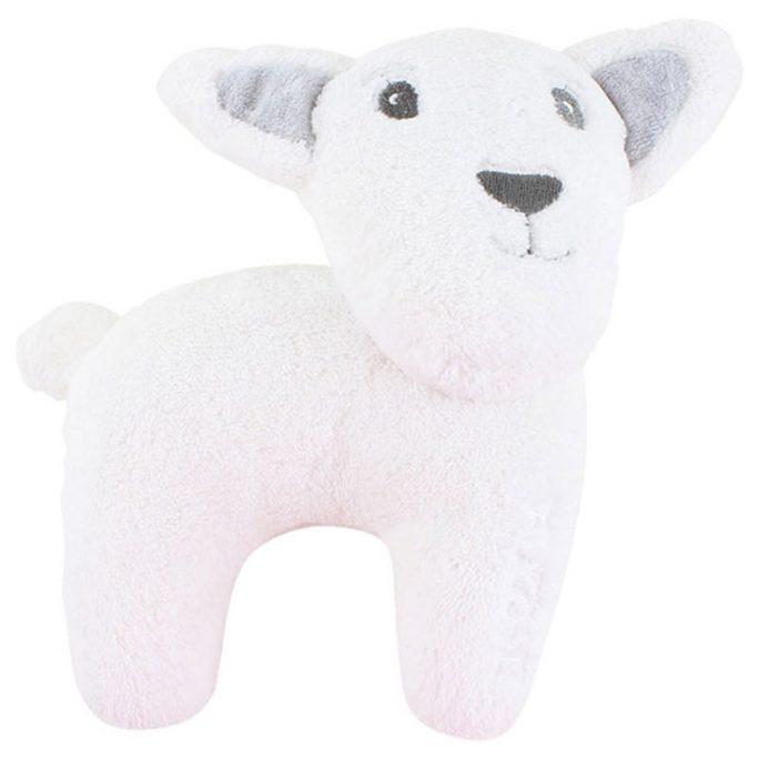 Mjukisdjur Lamm från Fixoni. Beställ Fixoni prematurkläder, babykläder och barnkläder på Lilla Filur.