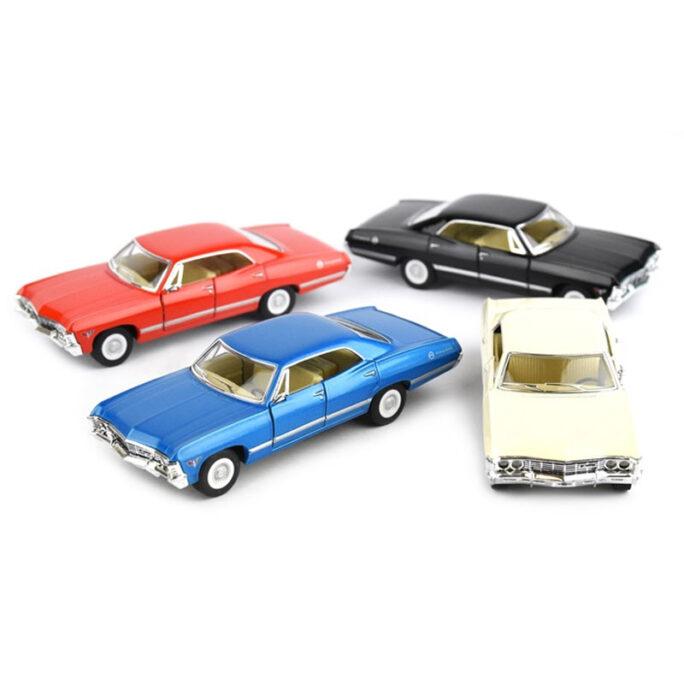 leksaksbil metall chevrolet impala 1967.
