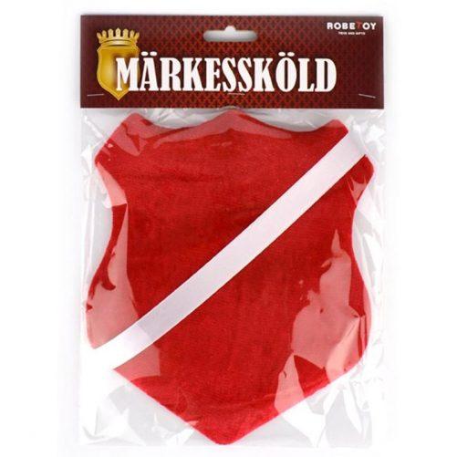 Märkessköld röd märkestavla - LillaFilur.se