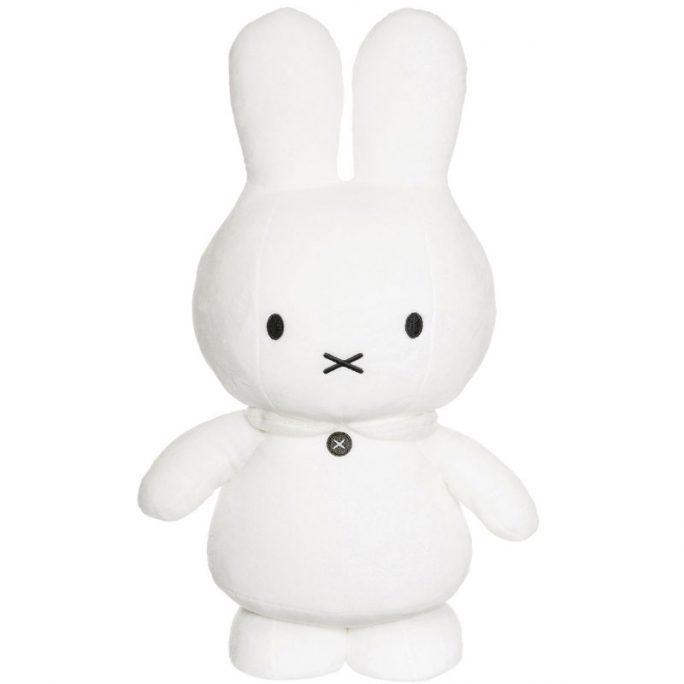 Miffy kanin XL vit. Stor vit Miffy Kanin. Bra doppresent. Beställ på LillaFilur.se
