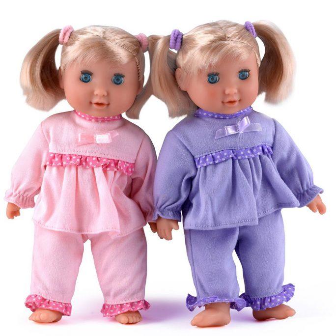 Mjuk Docka Blund Docka. Docka som passar små barn från 10 månader. Docka med ögon som kan blunda. LillaFilur.se