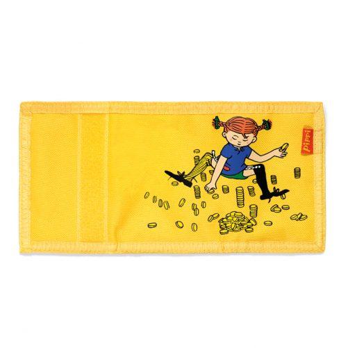 Plånbok pojke och flicka. Barnplånbok med Pippi Långstrump tryck. Köp barnplånbok hos Lilla Filur.