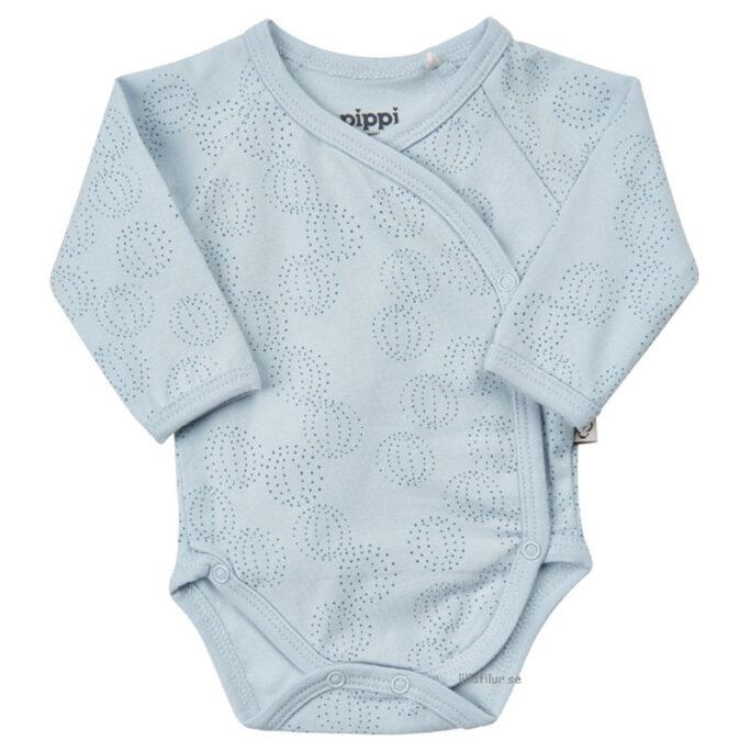 Prematurkläder, Prematur body ljusblå. Finns i storlek 40, 44 och 48 cl hos LillaFilur.se