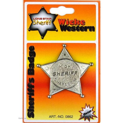 Sheriff Stjärna Wicke Western