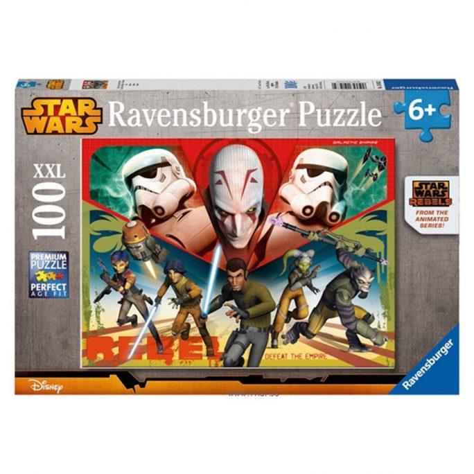 Pussel Barn Star Wars - 100 bitar XXL.
