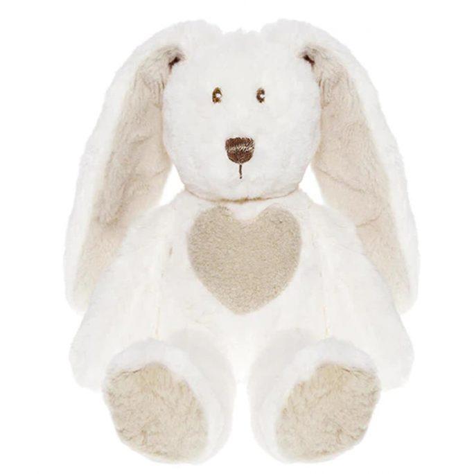 Teddykompaniet vit kanin med långa öron. Teddy Cream Kanin Mini Vit. Beställ nallar och kaniner från Teddykompaniet på LillaFilur.se