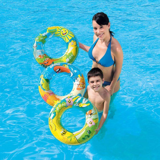 Uppblåsbar simring barn. Passar barn 3-6 år. LillaFilur.se