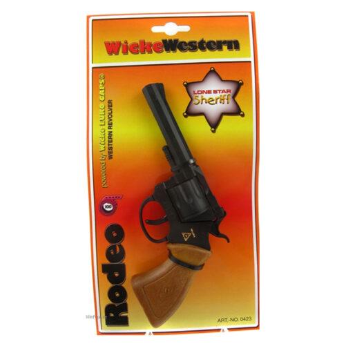 wicke western pistol knallpulverpistol 100-skott
