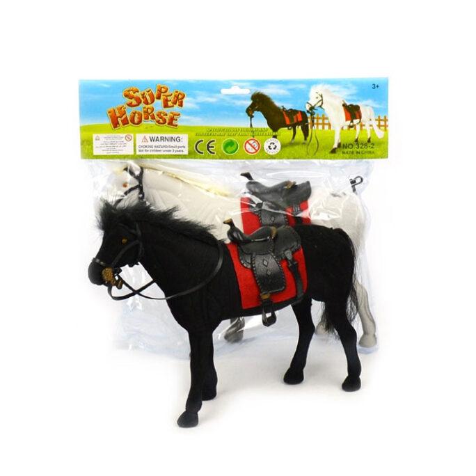 Barbiehäst med sadel