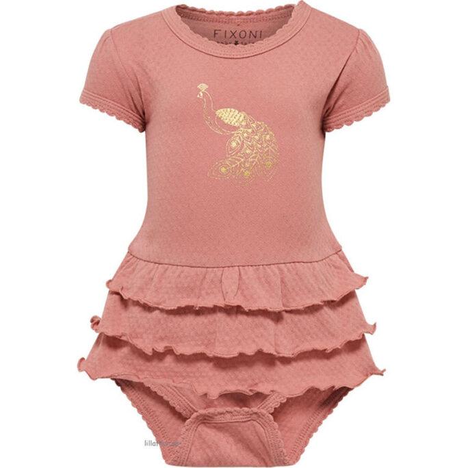 Prematur kläder Rea - Prematur klänning / Bodyklänning storlek 44. LillaFilur.se