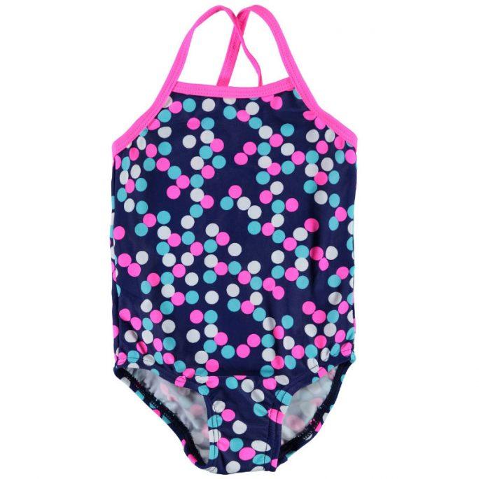 Badkläder baby - Söt prickig baddräkt baby storlek 74 80 för baby 6 till 12 månader. Köp babykläder på LillaFilur.se