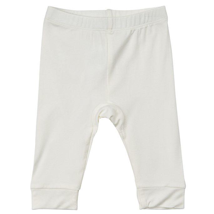 Bambukläder för baby. Extra mjuka och sköna leggings i Bambu från Minymo. Mudd i nederkant och i midjan. LillaFilur.se