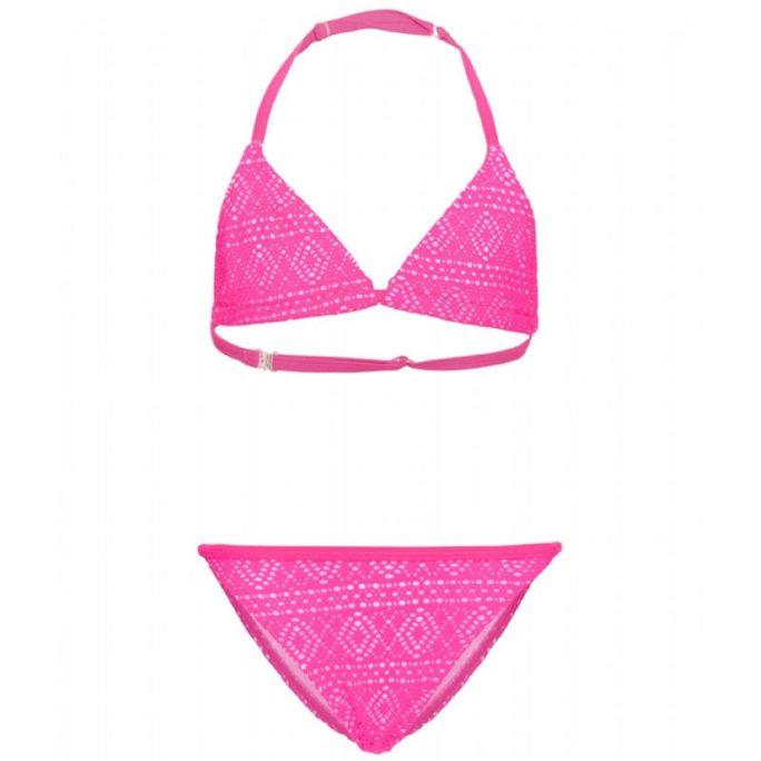 Bikini barn rosa spets storlek 110/116, 122, 128, 134/140, 146/152, 158/164. Omgående leverans. LillaFilur.se