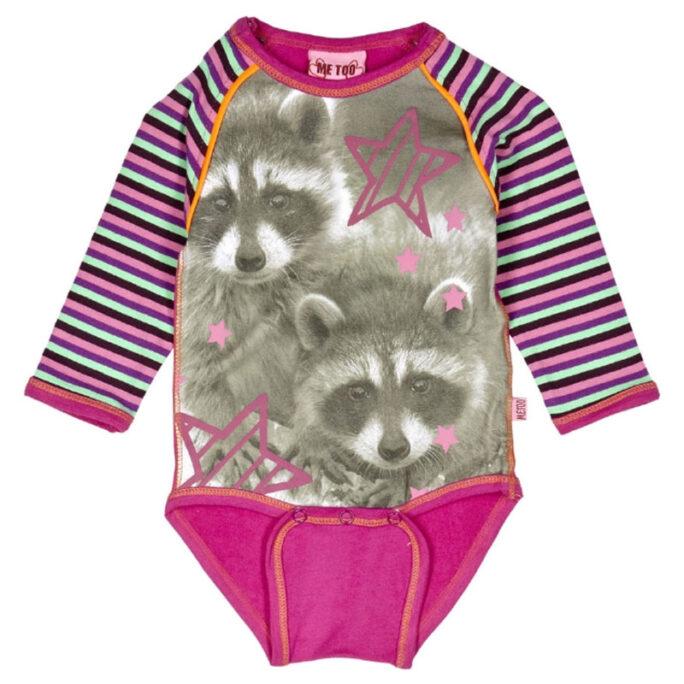 Body med djur tvättbjörn.
