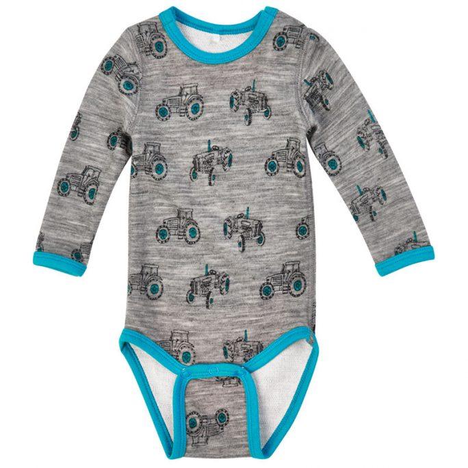 Ullkläder från Me Too för baby. Body med ull och bambu insida. Nu 50 procent rea hos LillaFilur.se.