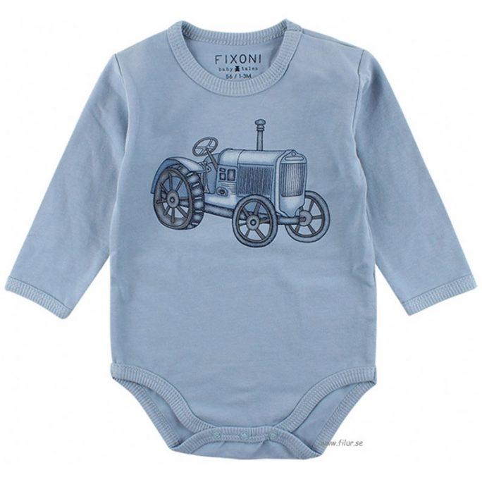 Body pojke storlek 68 med tryck. Baby body med retro tryck. Beställ babykläder online på LillaFilur.se
