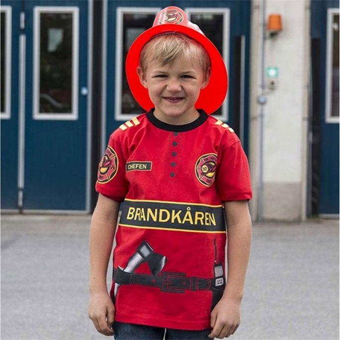 Brandmanströja barn. Brandmanskläder barn och brandmans leksaker hos LillaFilur.se