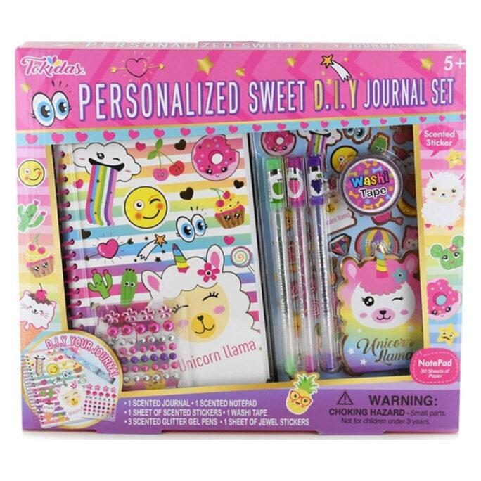 dagbok med doft luktblock luktpennor