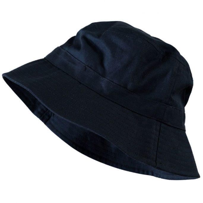 Fiskarhatt 54-55 cm bucket hat marinblå. Snygga solhattar och fiskarhattar / bucket hat på LillaFilur.se