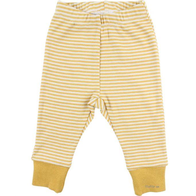 Fixoni rea baby byxor gul. Rea Babykläder från Fixoni hos LillaFilur.se.