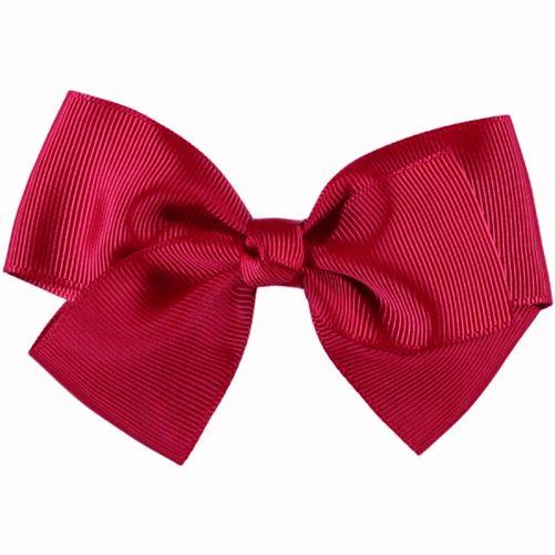 Hårspänne Stor Rosett Röd. Stor röd rosett för håret cirka 11 cm. Med hårklämma. LillaFilur.se