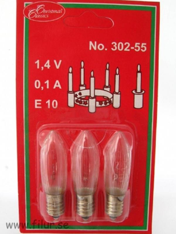 Lampa för Luciakrona Tärnljus