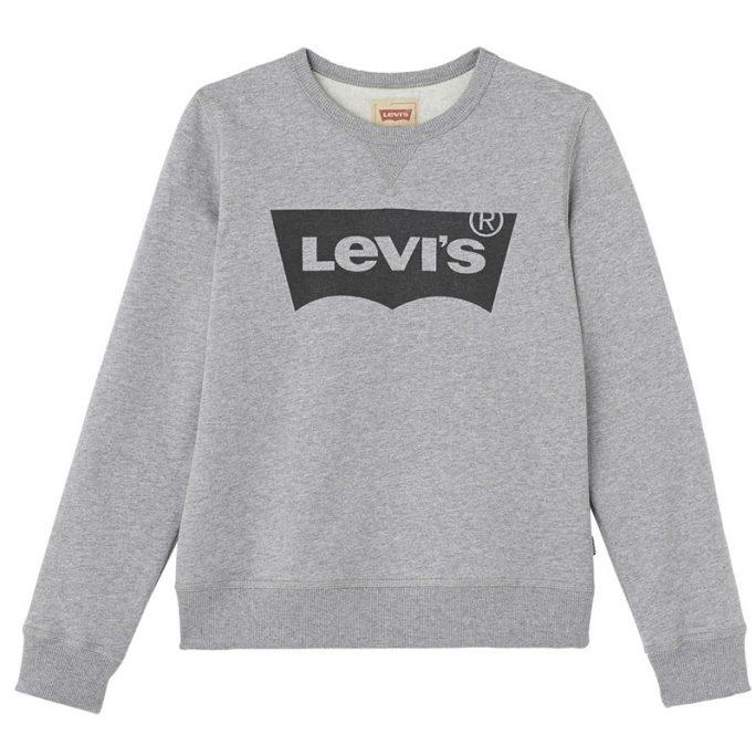 Levis barn rea. Grå sweatshirt Levis. Beställ Levis barnkläder rea på LillaFilur.se