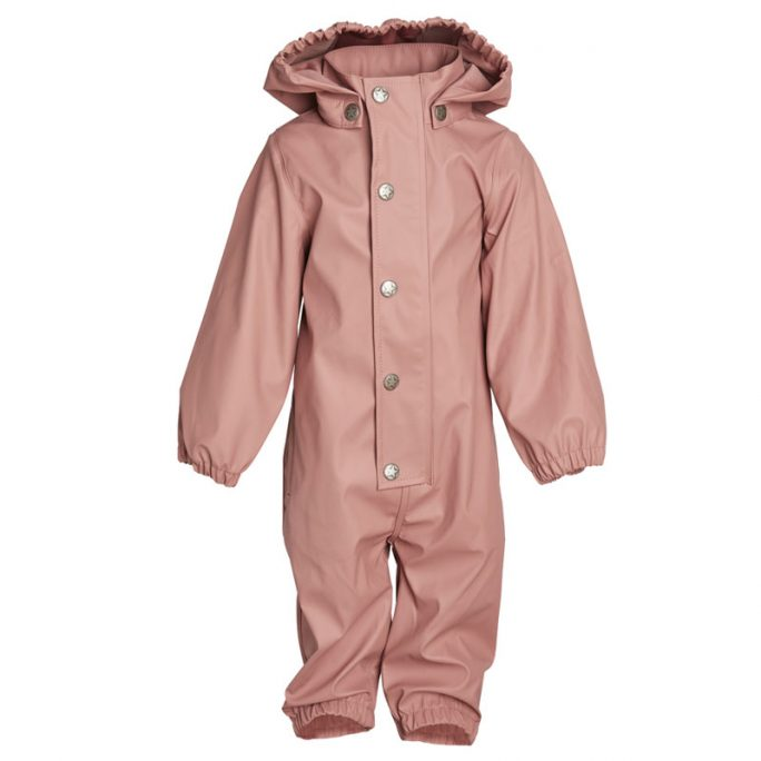 Rosa regnoverall barn storlek 80. Ofodrad snygg regnoverall från En Fant barnkläder. Fraktfri leverans. LillaFilur.se