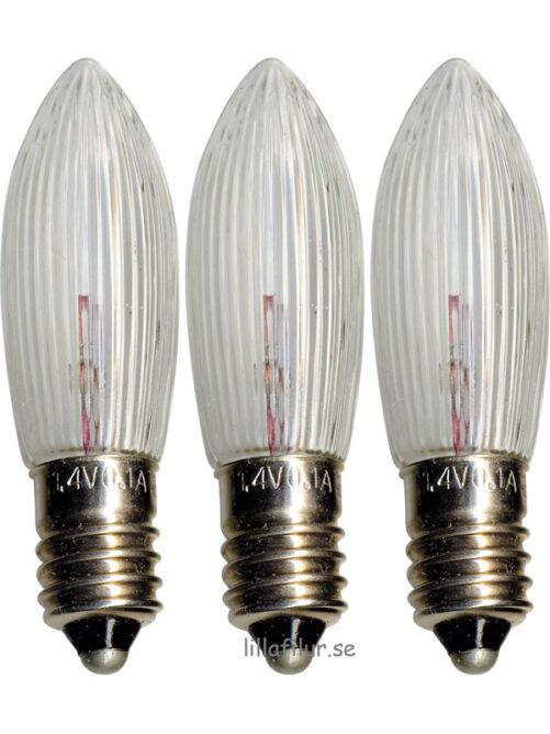 Reservlampa Luciakrona Tärnljus 3-pack