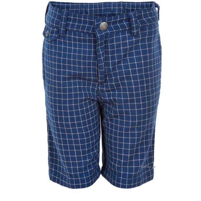 Rutiga Barn shorts flanell. Beställ barnkläder från Minymo på LillaFilur.se