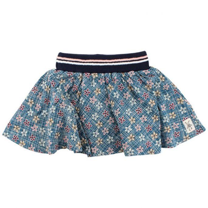 Small Rags barnkläder kjol barn klockad. Ekologiska barnkläder. Klockad barn kjol. LillaFilur.se