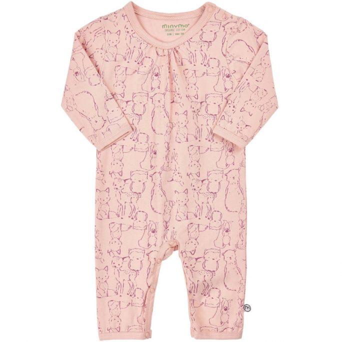 Sparkdräkt baby storlek 62. Pyjamas baby rosa storlek 62. Köp ekologiska babykläder på LillaFilur.se
