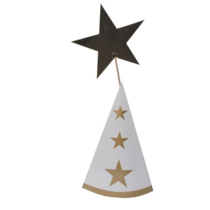 Stjärngosseset för Staffan Strut, hatt och stjärna.