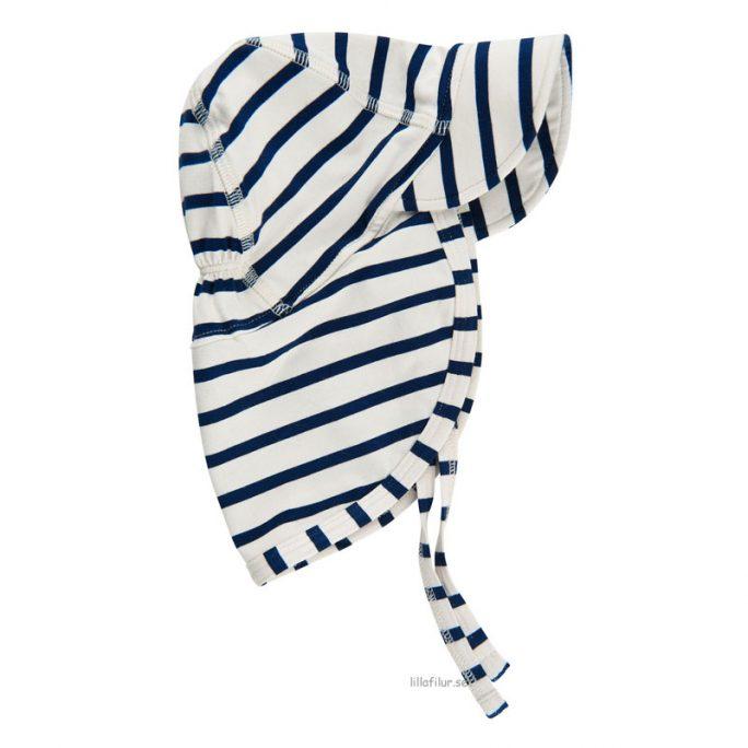 Solhatt keps går ner över öronen. Solhatt storlek 50-56, 62-68, 74-80-, 86-92. Beställ babykläder och barnkläder på LillaFilur.se