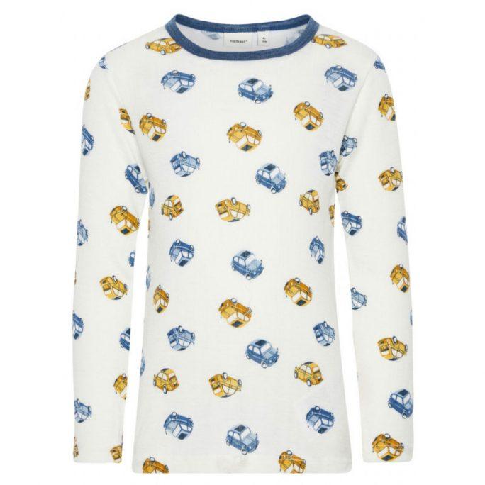Ullkläder från Name It 100% merinoull. Ullunderställ och undertröja ull för barn finns i storlek 80, 86, 92, 98, 104 och 110. Beställ ulltröja barn och baby hos LillaFilur.se