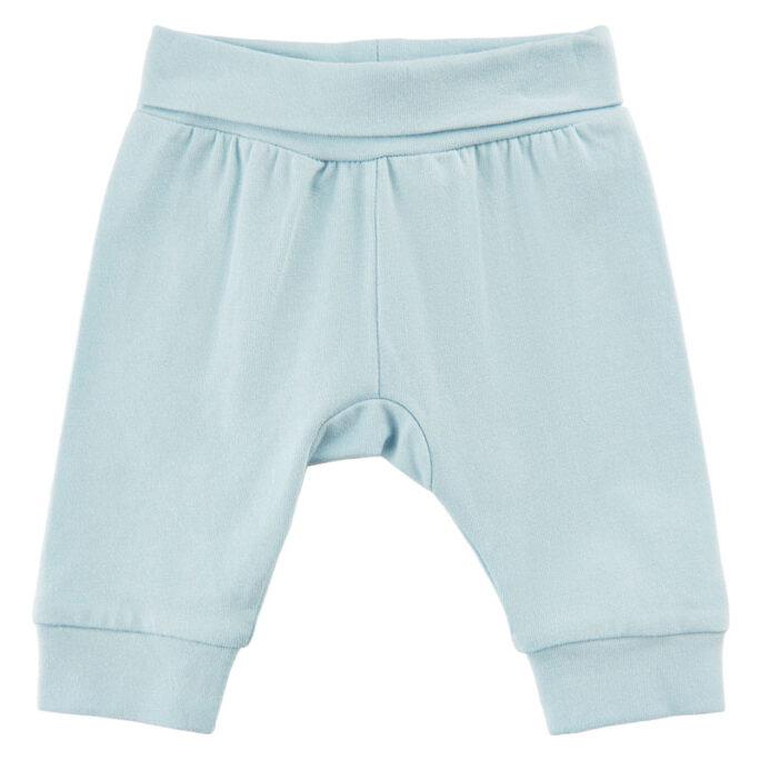 Kläder för prematur barn. Prematur byxor ljusblå storlek 40, 44 och 48 cl.