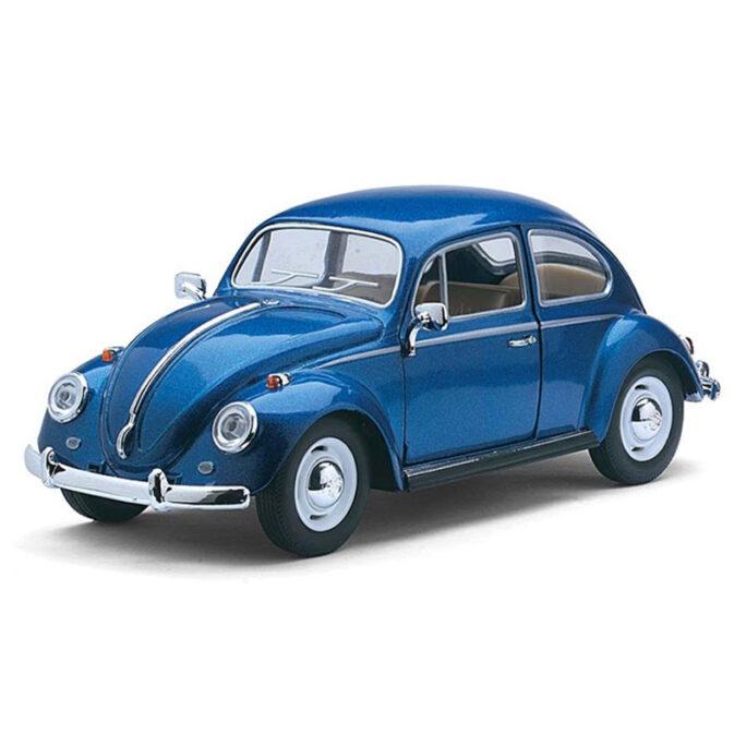 Stor leksaksbil i metall blå bubbla.