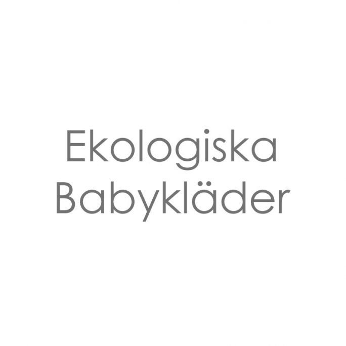 Ekologiska Kläder Baby