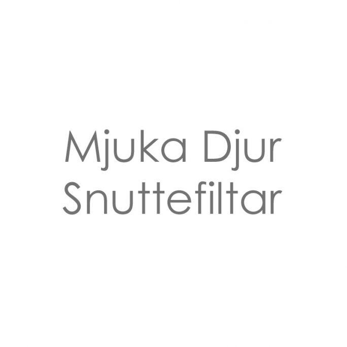 Mjuka Djur / Snuttefiltar